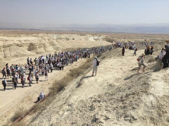 The march to the Dead Sea